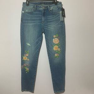 NWT MISS ME Ankle Skinny Jeans Size 29